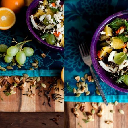 Des fruits, des Légumes, une salade vitaminée!