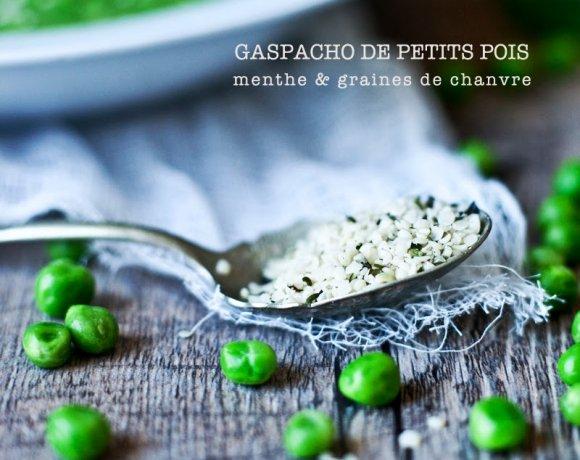 Montréal Tropical // Gaspacho vert & frais // Petits Pois et menthe !