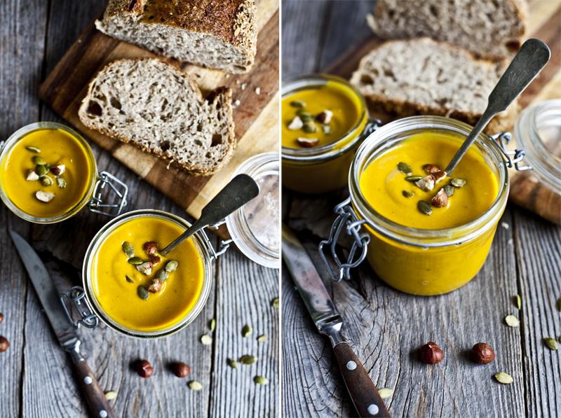 Soupe carotte courge & curcuma ©EmilieGaillet