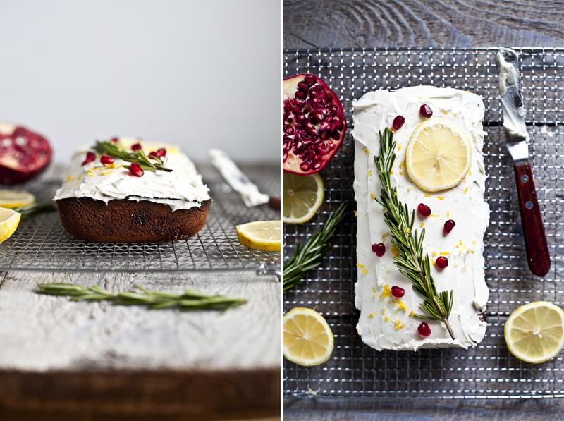 Cake Citron & Romarin ©EmilieMurmure