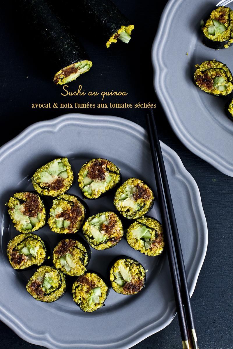 Sushi au quinoa-avocat-noix fumees aux tomates sechees3_©EmilieMurmure