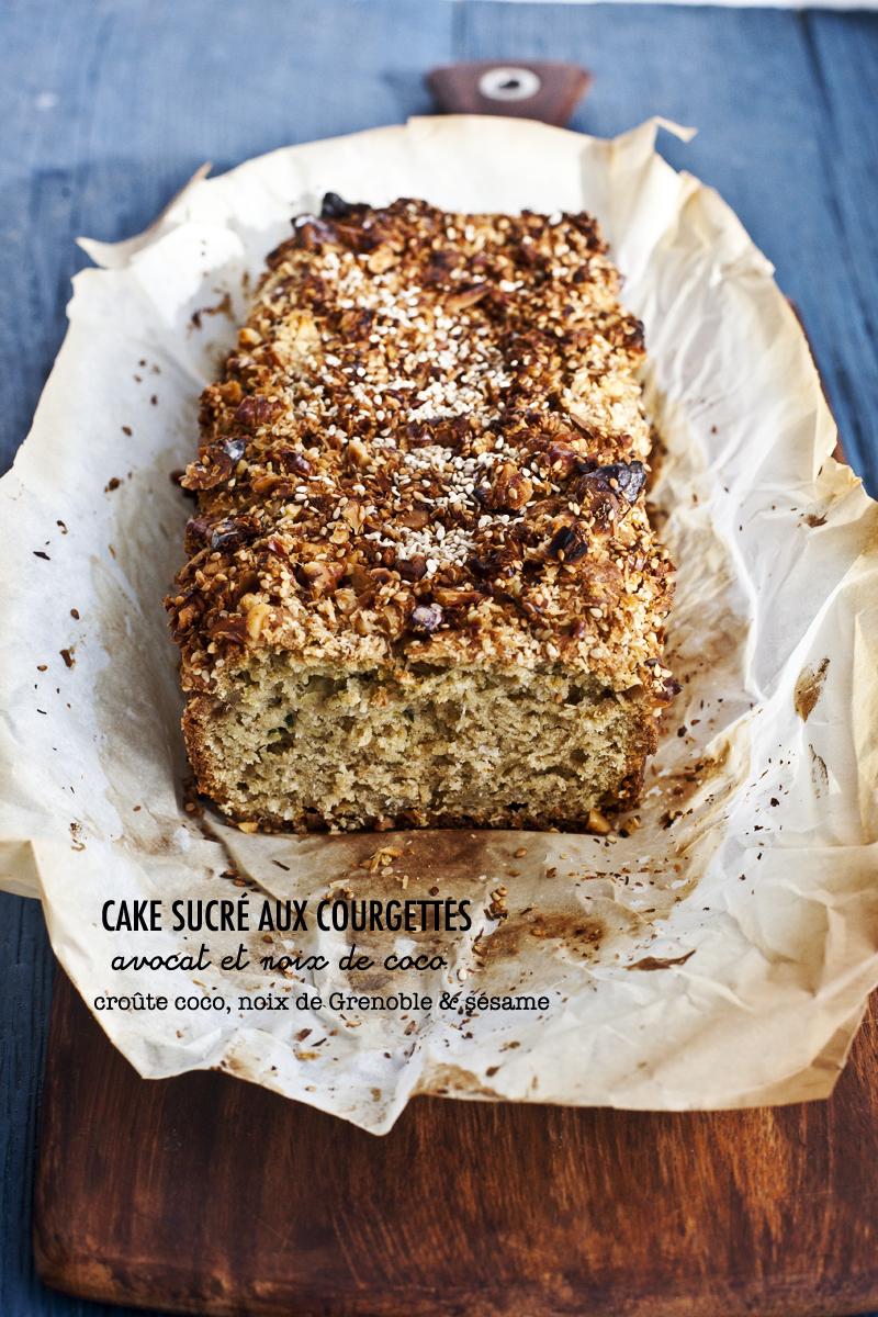 Cake zucchinis, avocat & noix de coco_1©Emiliemurmure