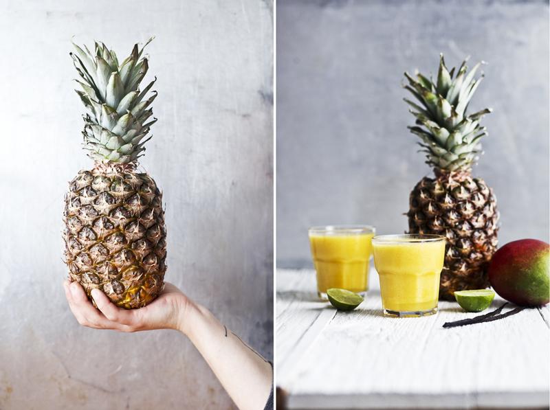 Smoothie Ananas+mangue+lime+vanille_2©Emiliemurmure