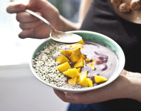 Une version petit déjeuner de la célèbre «Nana icecream» – Crème glacée à la banane