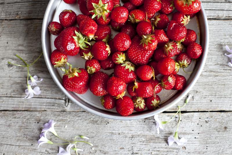 Smoothie au lait de cajou, fraise & avoine5_Emiliemurmure