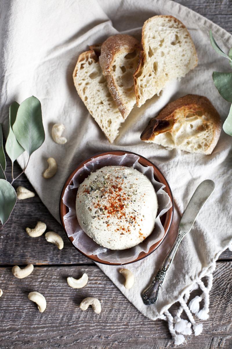 Fromage de cajou & basilic_Emiliemurmure