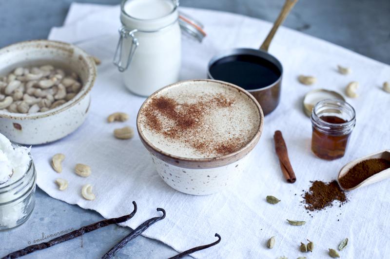 Chaga latte cajou, cardamone & cannelle_Emiliemurmure