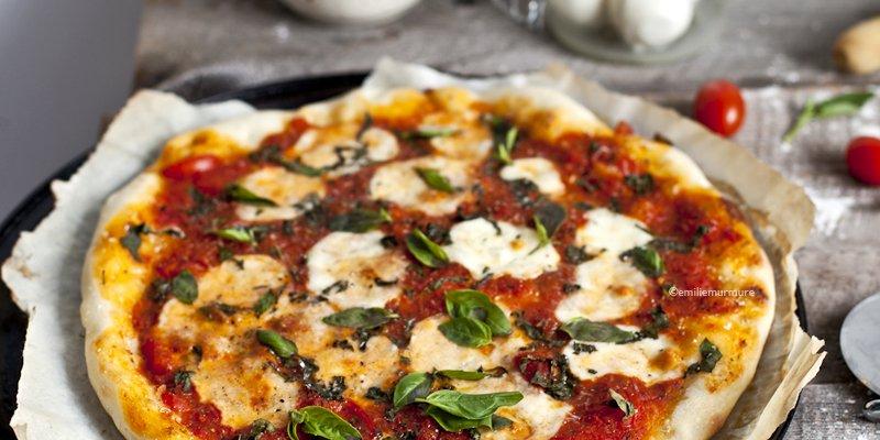 Pizza Margherita maison presque comme au Roberta's