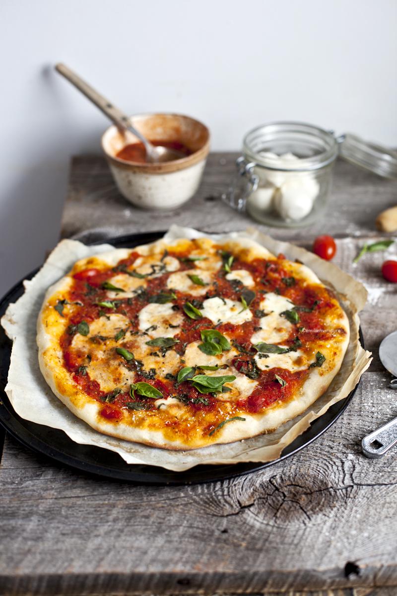 Pizza Margherita ©Emiliemurmure