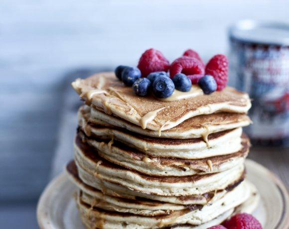 Pancake moelleux à la ricotta et à l'érable