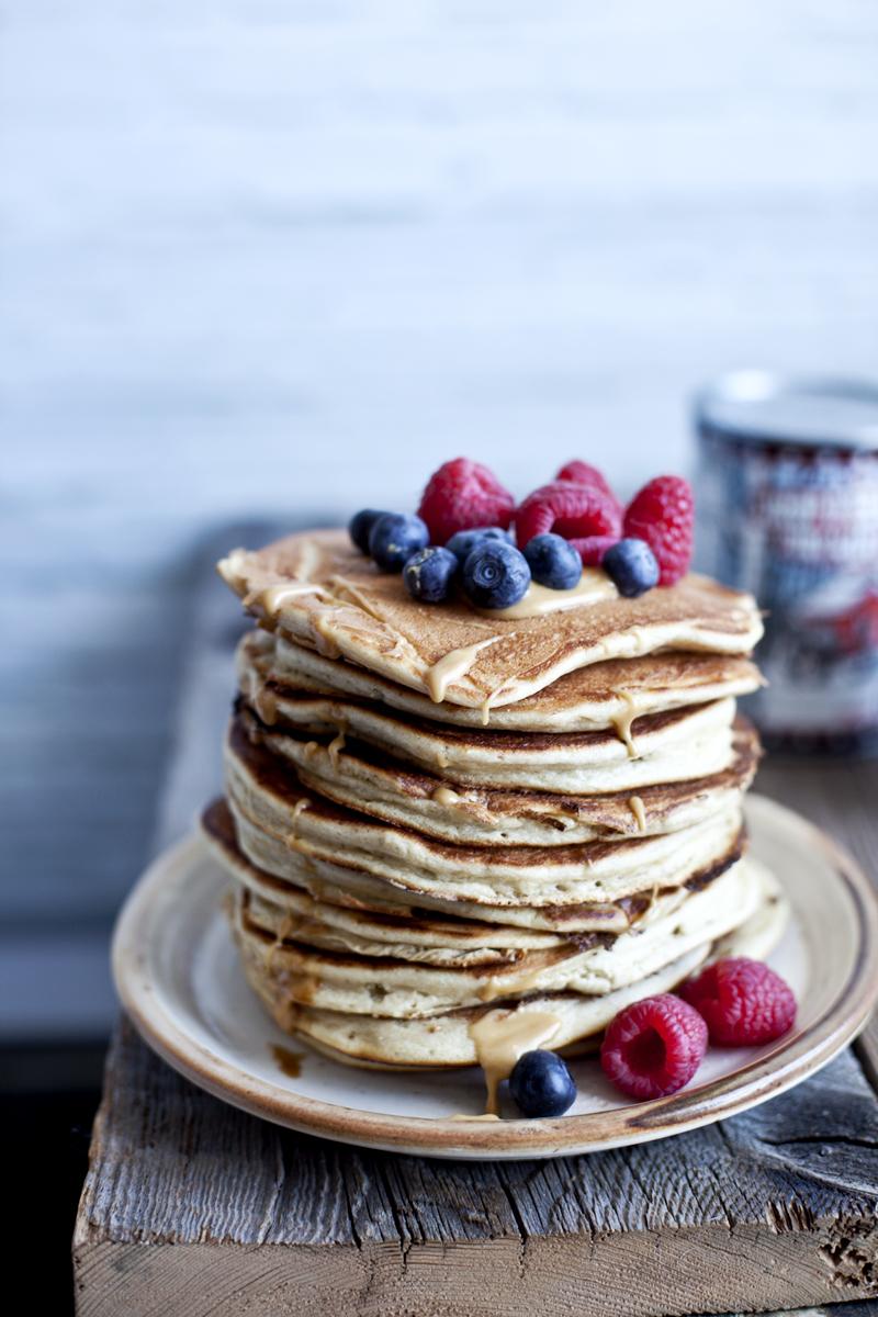 Fluffy ricotta & maple pancake ©Emiliemurmure