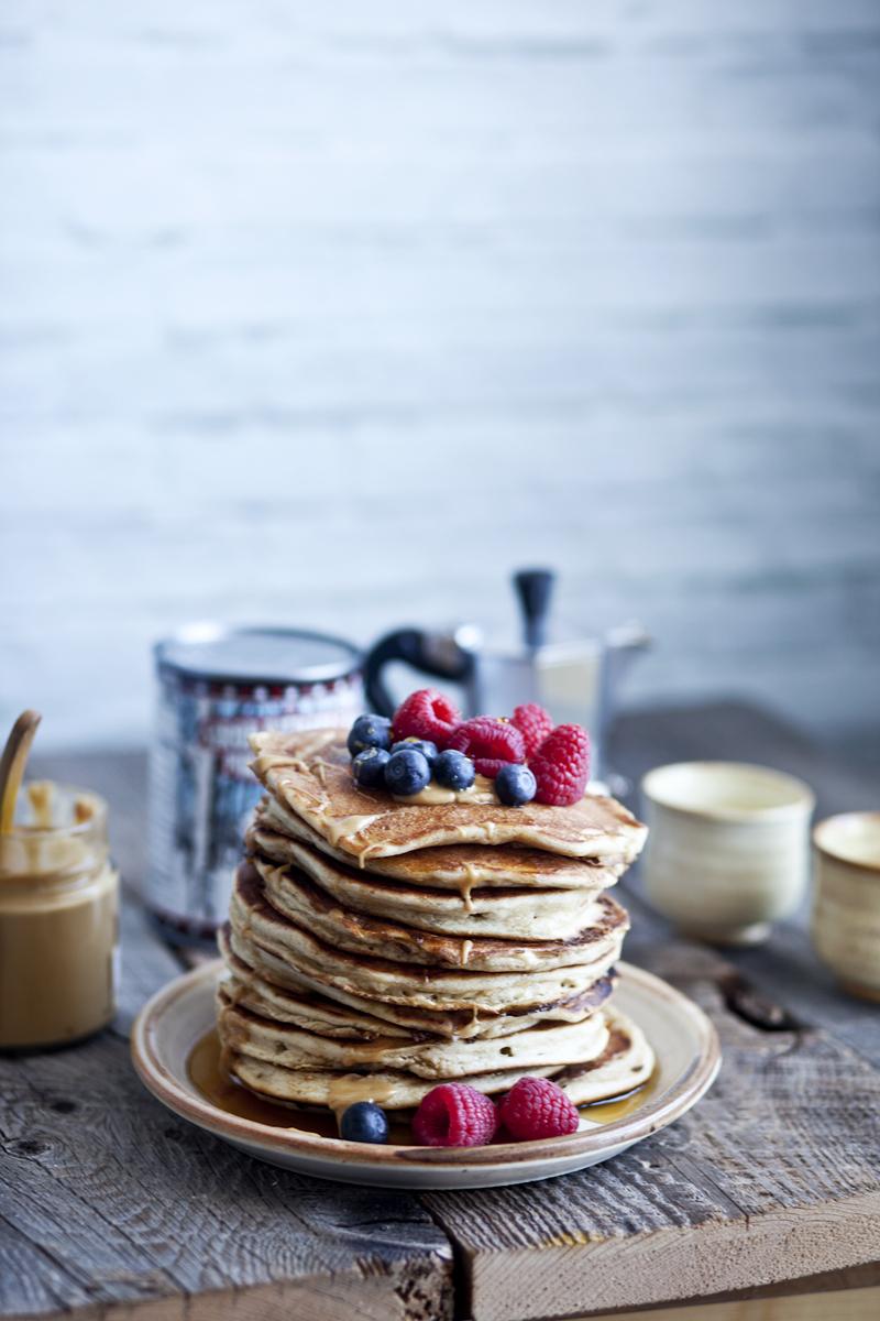 Pancake ricotta & erable ©Emiliemurmure