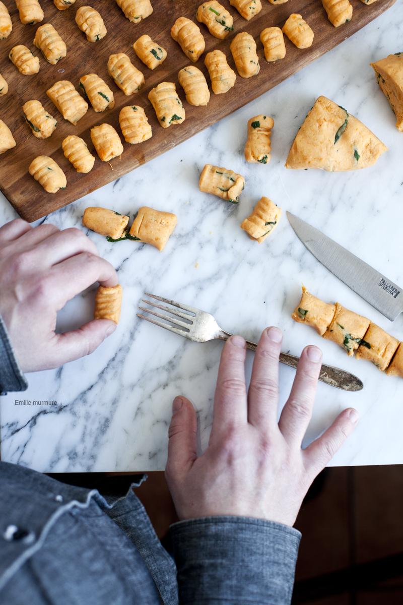Gnocchis de patate douce_emiliemurmure