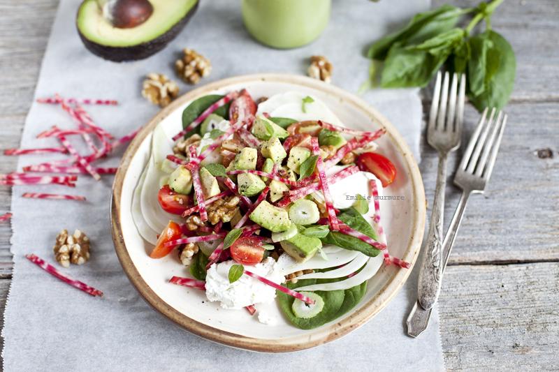 Avocado beet summer salad_Emiliemurmure