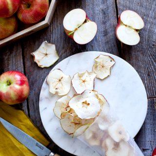 Chips de pomme maison + les liens de la semaine