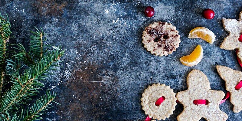 Guirlande de biscuits sablés