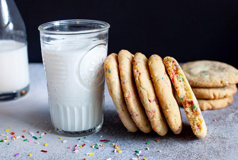 Biscuits de fête aux confettis