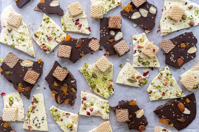Ecorce de chocolat maison